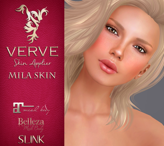 Verve Mila - Skin Applier List